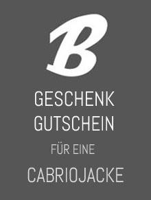 Geschenkgutschein für eine Cabriojacke von Heinz Bauer